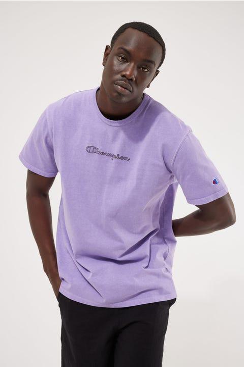 Champion Garment Dye Heritage Tee Lavender Field