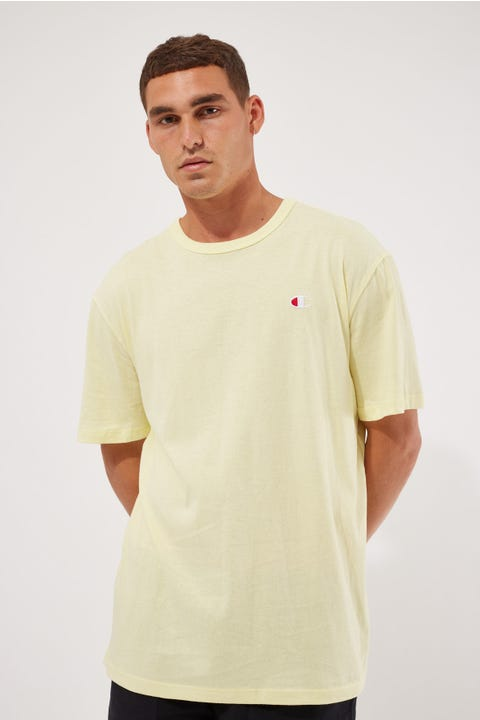 Champion Bound Lightweight Tee Lemon Glacier