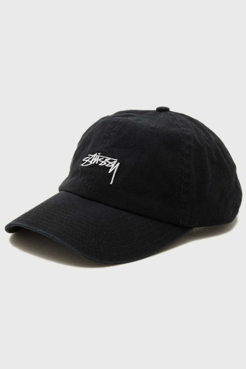 Stussy Authentic Low Pro Cap Black