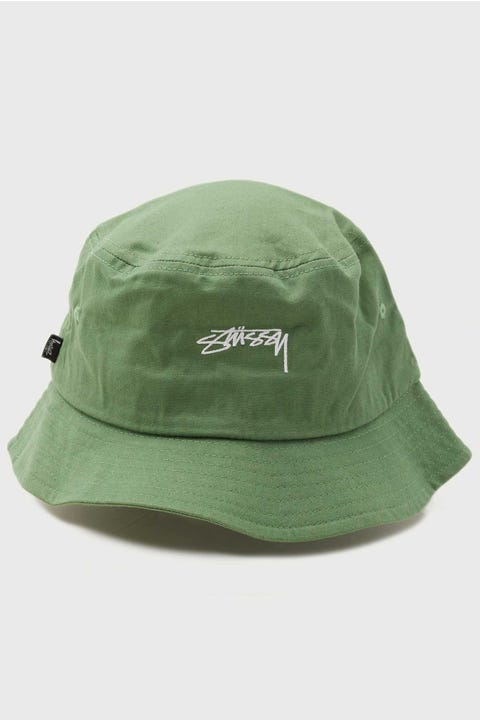 Stussy Authentic Bucket Hat Basil