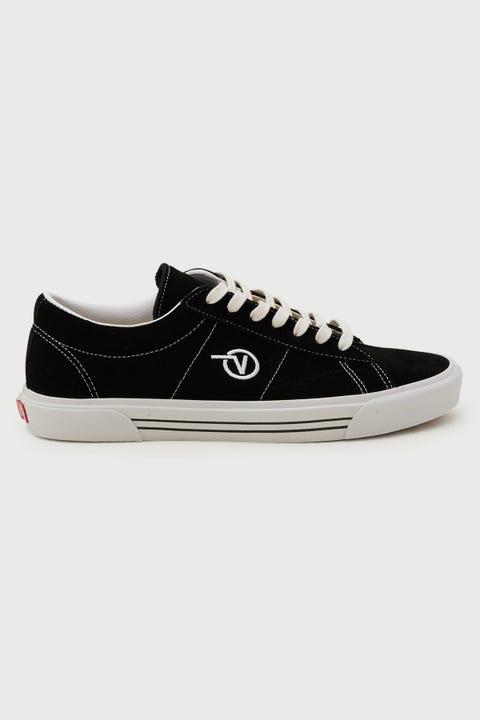 Vans Sid (Suede) Black/White