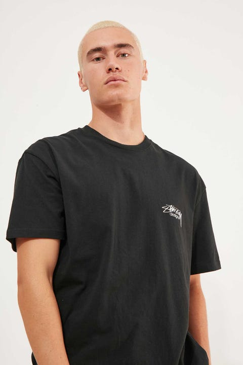 Stussy Designs SS Tee Solid Black