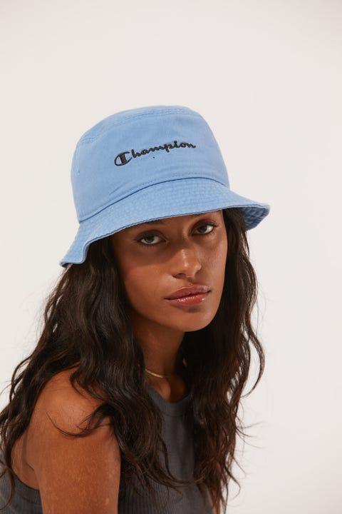Champion Garment Dyed Bucket Hat Blueberry Cream