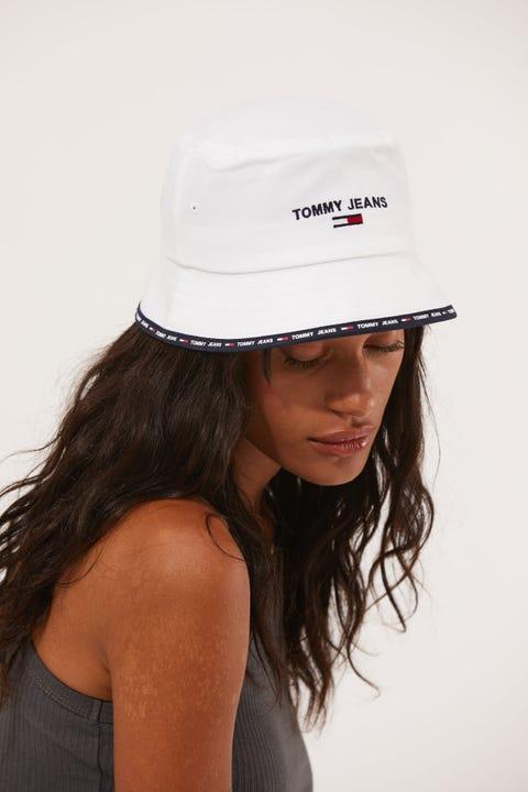 Tommy Jeans TJW Sport Bucket White