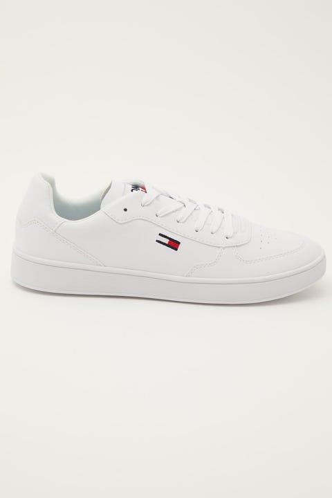 Tommy Jeans TJ Cupsole Sneaker White