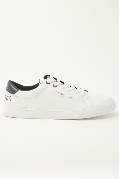 Tommy Jeans Tommy Logo Sneaker White