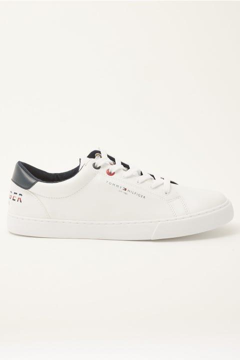 Tommy Jeans Tommy Logo Sneaker White