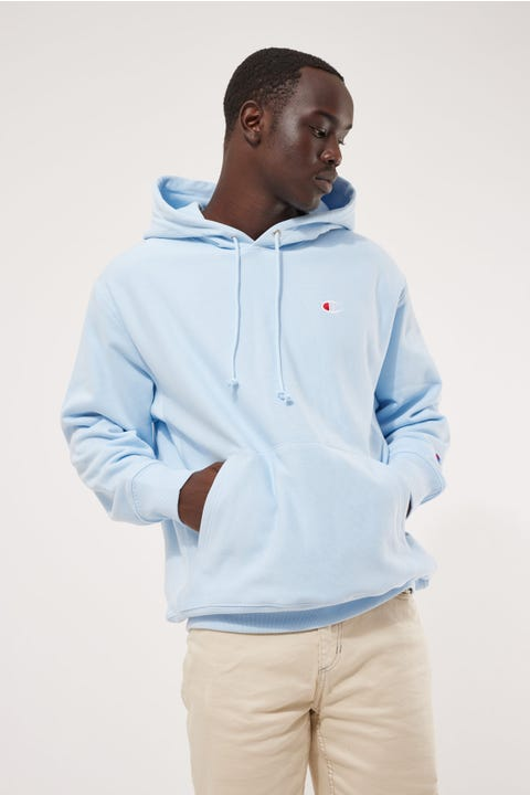 Champion Reverse Weave French Terry Hoodie Argentina Blue