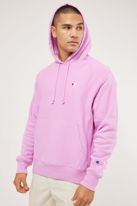 Champion Reverse Weave Hoodie Paper Orchid