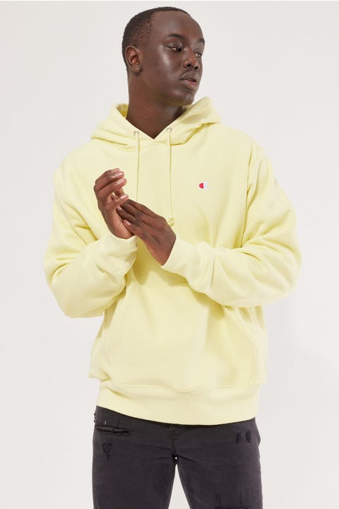 Champion Reverse Weave Hoodie Lemon Glacier