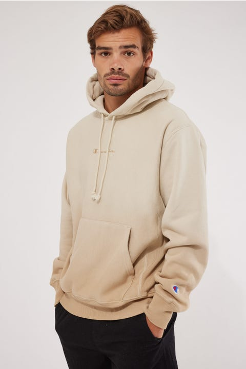 Champion Ombre Reverse Weave Hoodie Country Walnut