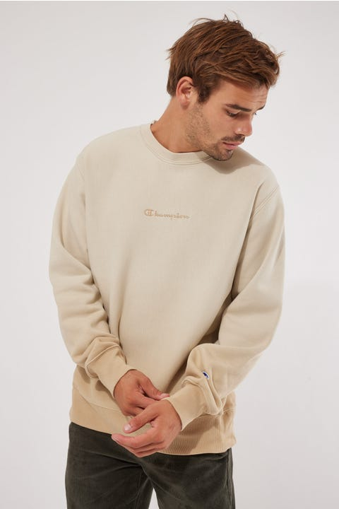 Champion Ombre Reverse Weave Crew Country Walnut