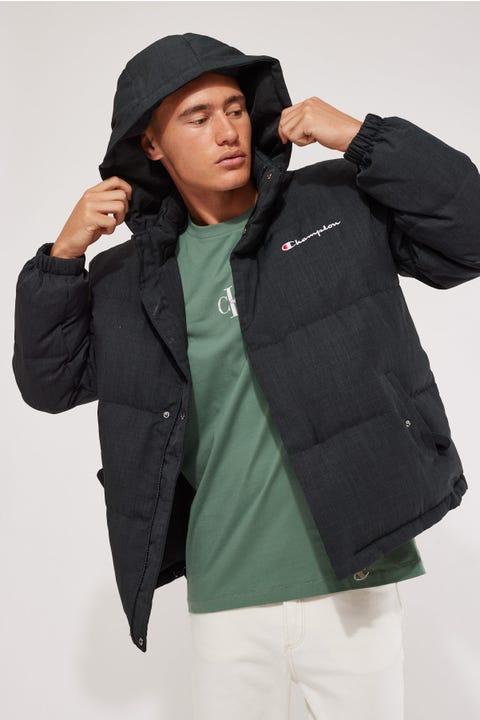 Champion Re:Bound Reversible Puffer Jacket Black