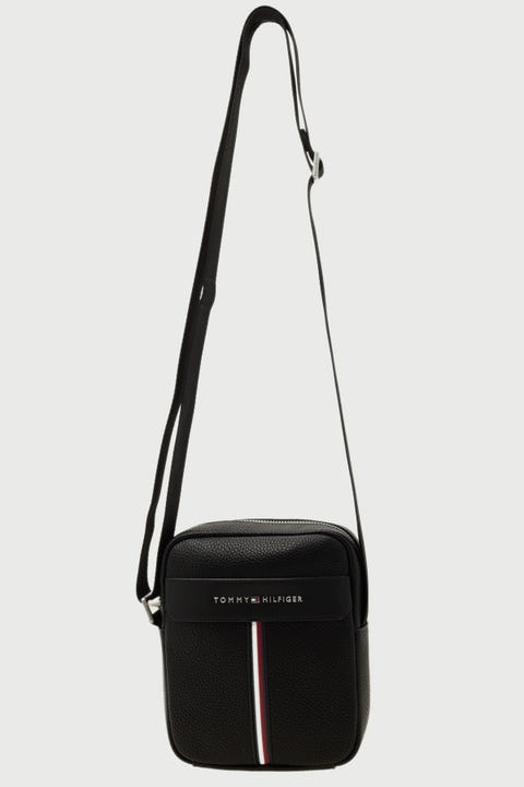 Tommy Jeans Downtown Mini Reporter Black