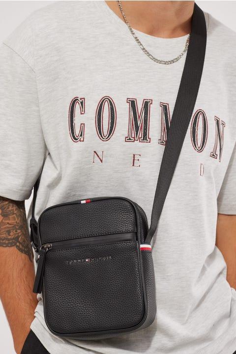 Tommy Jeans Essential PU Mini Reporter Black