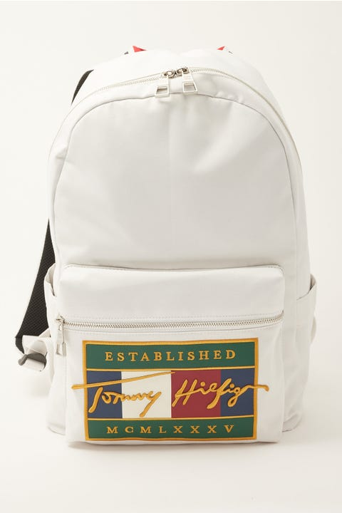 Tommy Jeans Signature Flag Backpack Ecru