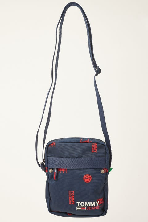 Tommy Jeans Campus Reporter Print Navy