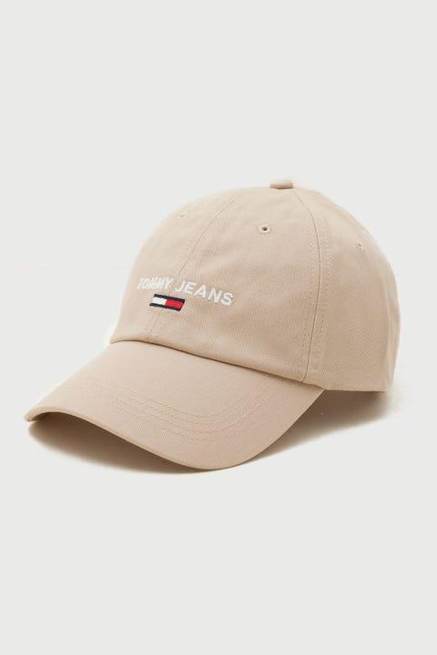 Tommy Jeans Sport Cap Soft Beige