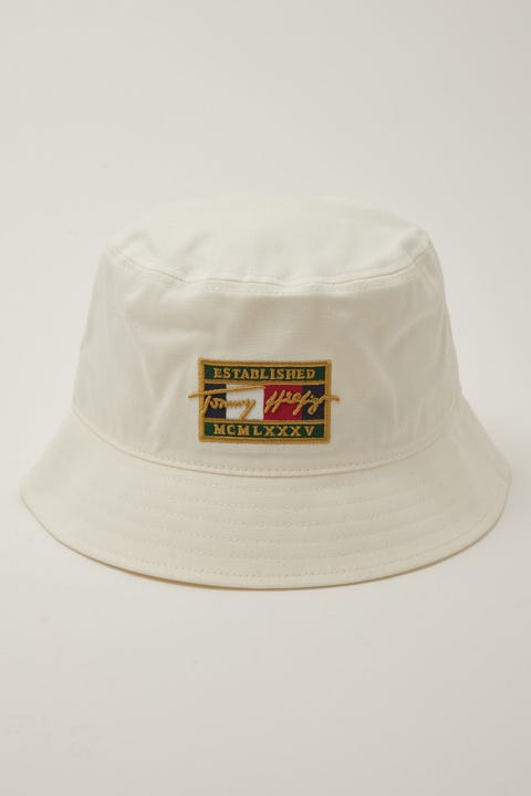 Tommy Jeans Patch Signature Bucket Ivory