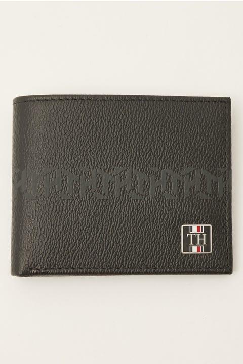 Tommy Jeans Monogram Mini CC Wallet Black