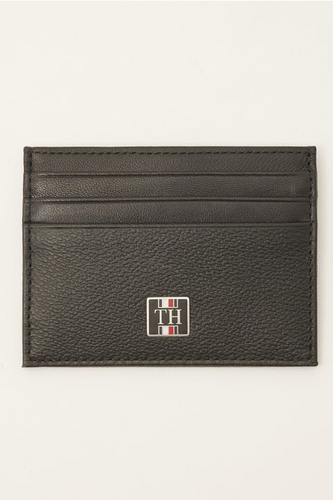 Tommy Jeans Monogram CC Holder Black