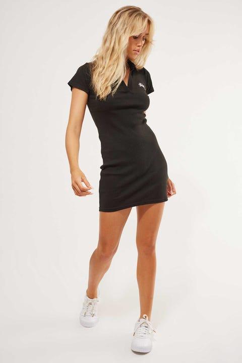 Stussy Elson Rib Dress Black