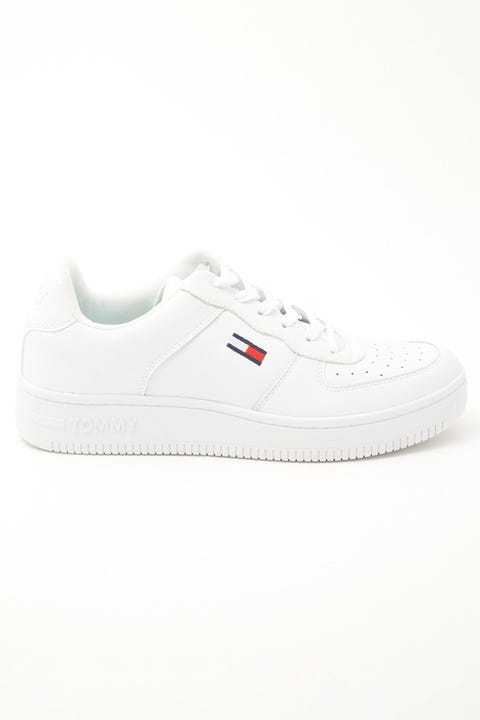Tommy Jeans Basket Cupsole White