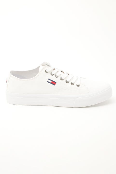 Tommy Jeans Long Lace-Up Vulc White