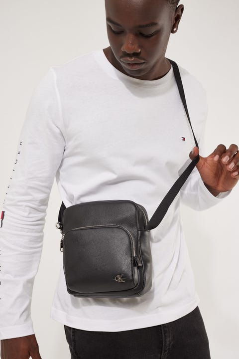 Calvin Klein Micro Reporter Black
