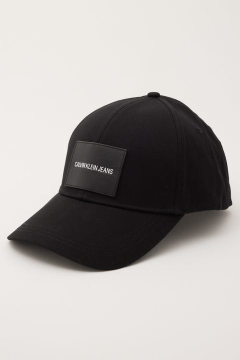 Calvin Klein Patch Cap Black