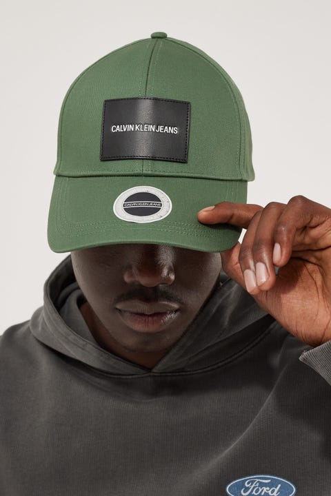 Calvin Klein Patch Cap Duck Green