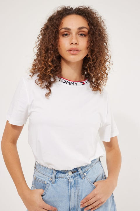 Tommy Jeans Retro Tommy Tee White