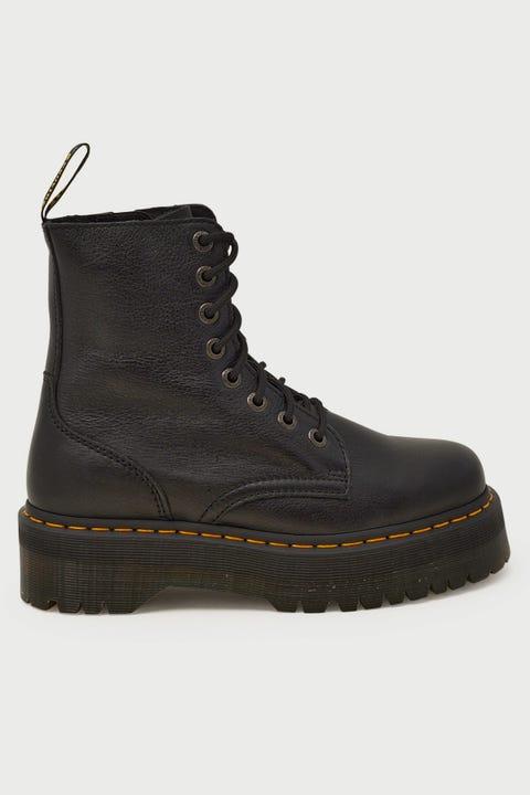 Dr Martens Jadon 8 Eye Boot Black Pisa