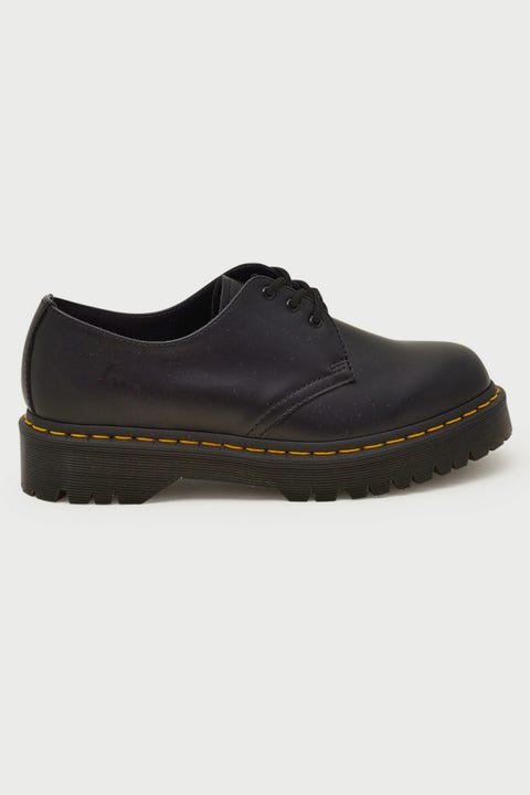 Dr Martens Womens 1461 Bex 3 Eye Black Smooth