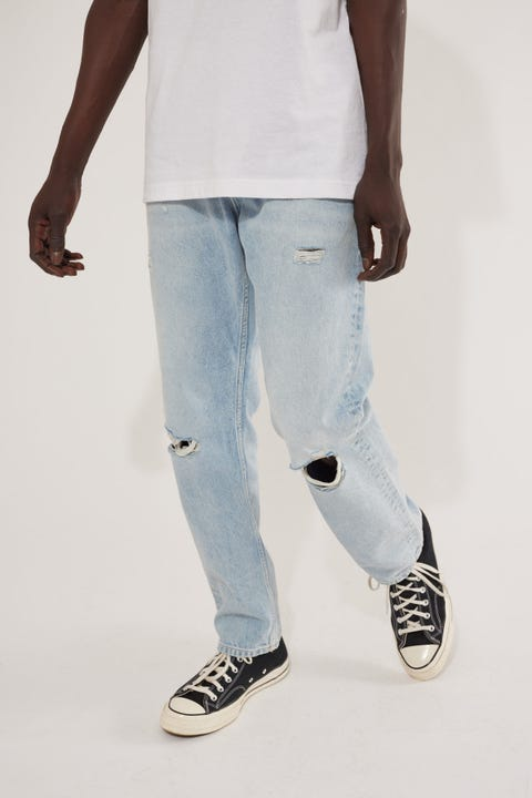 Tommy Jeans Ethan Relaxed Straight Jean Save Light Rigid Destroy
