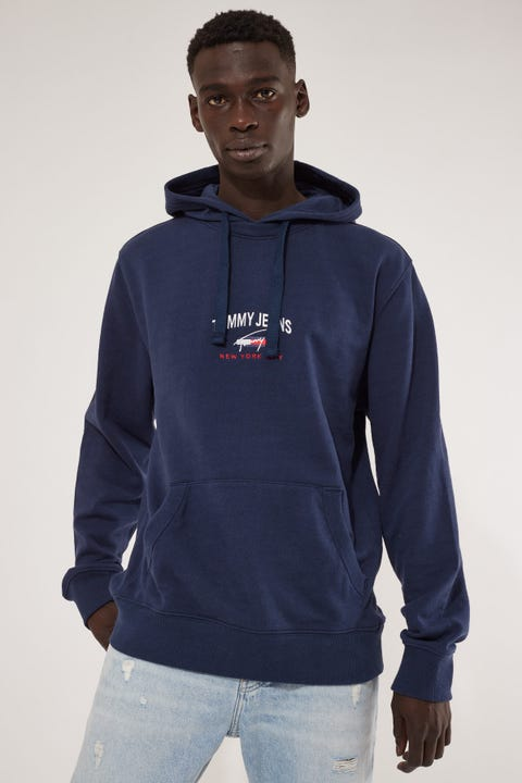 Tommy Jeans TJM Timeless Tommy Hoodie Twilight Navy