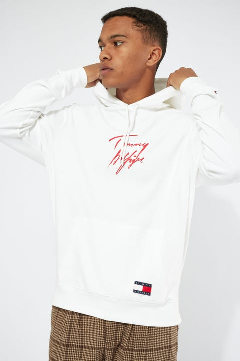 Tommy Jeans Tommy 85 Hoodie White