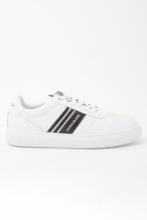 Calvin Klein Cupsole Lace Up Oxford White