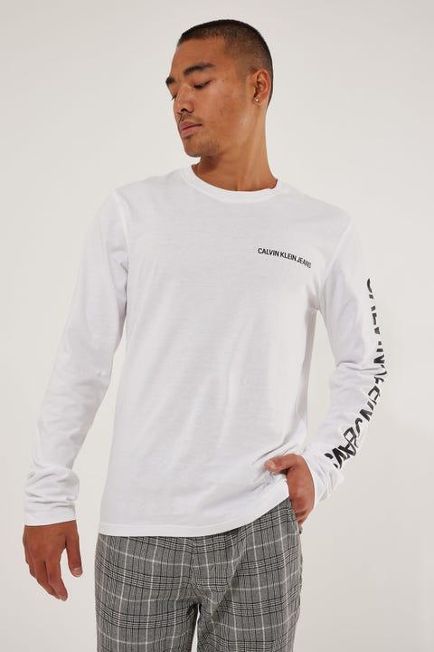 Calvin Klein Essential Instit LS Tee Bright White