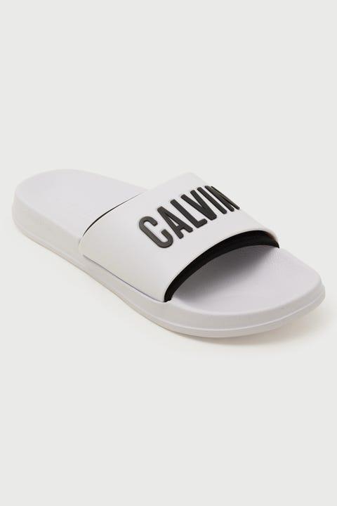 Calvin Klein Intense Power Slide Classic White