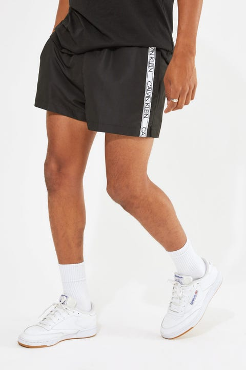 Calvin Klein Core Logo Tape Short Drawstring Black