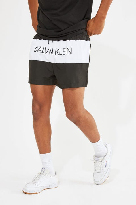 Calvin Klein Core Placed Logo Short Drawstring Black
