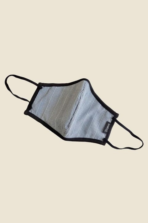 Brixton Antimicrobial Face Mask Engineer Stripe
