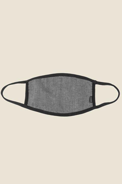 ICON BRAND Community Mask Black Chambray