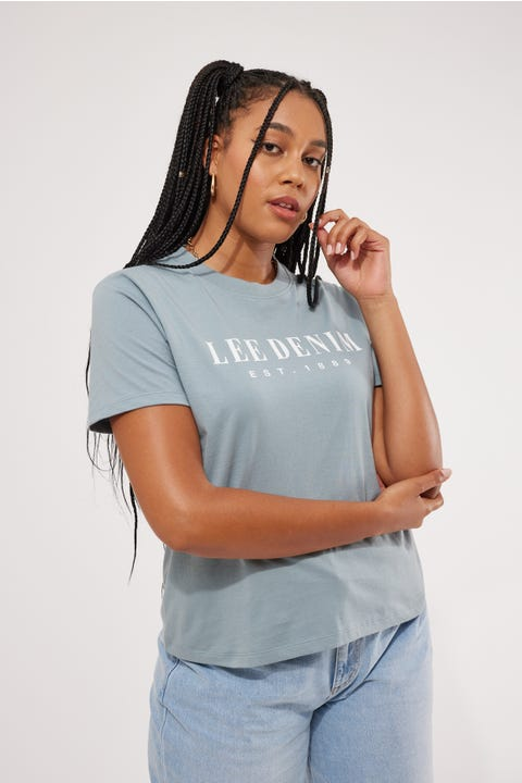 Lee Classic Tee Pacific Blue
