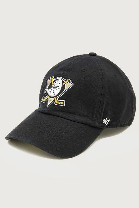 47 Brand Clean Up Anaheim Ducks Black