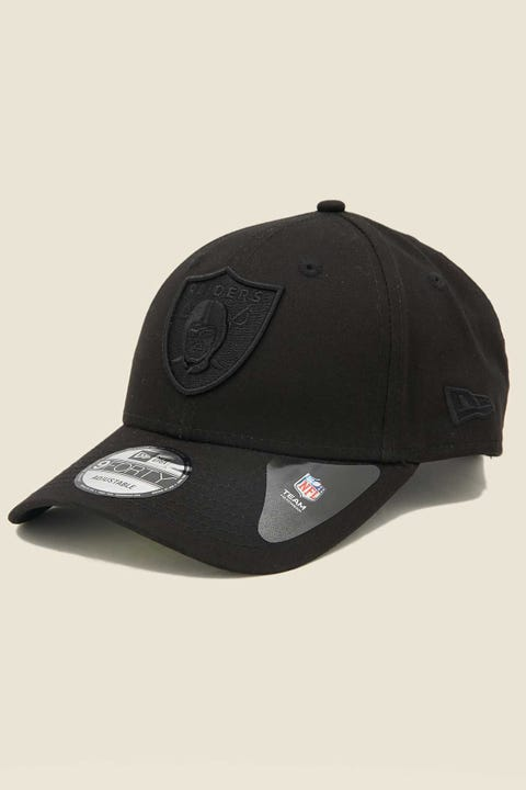 NEW ERA 9Forty Oakland Raiders Clothstrap Black/Black