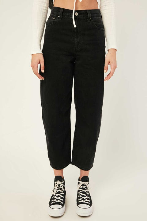 LEVI'S Balloon Leg Jean Black Book