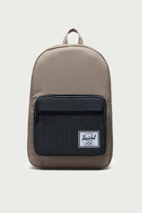 Herschel Supply Co. Pop Quiz Timberwolf/Black Denim