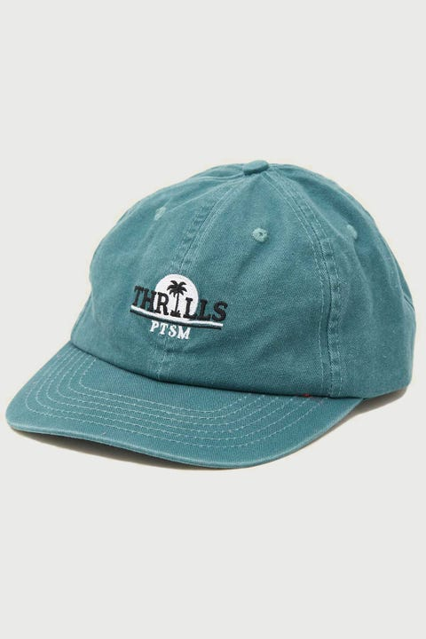 Thrills Paradise Cap Washed Teal